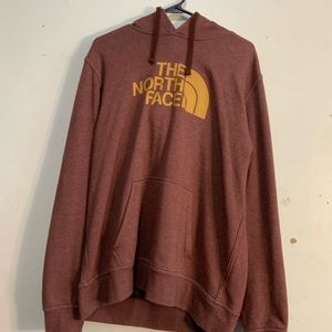 The north face hoodie large with defect